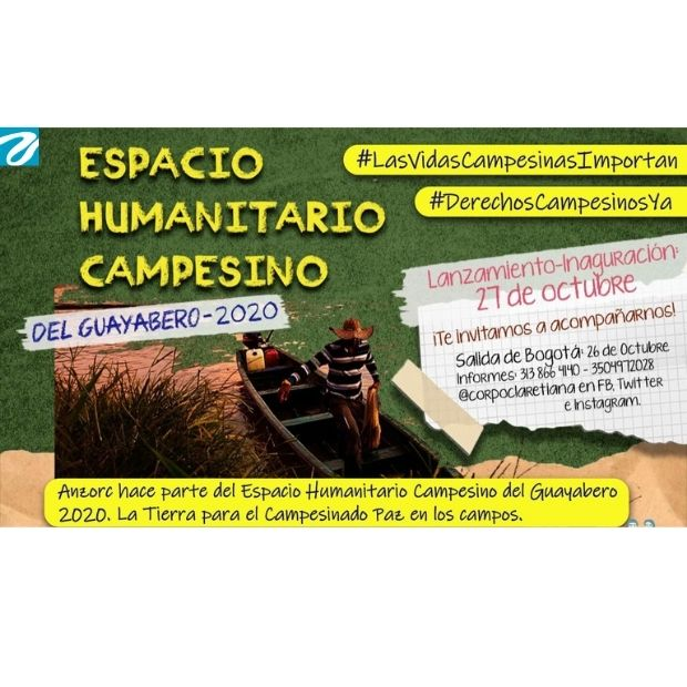 Desde hoy se movilizan organizaciones sociales hacia el río Guayabero.
