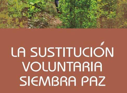 Informe Especial «La Sustitución Voluntaria Siembra Paz»
